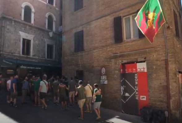 Palio di Siena: Canta il Drago#PalioLive