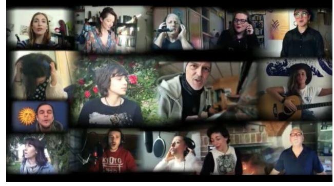 Asti: La canzone degli artisti astigiani in omaggio aisoccorritori