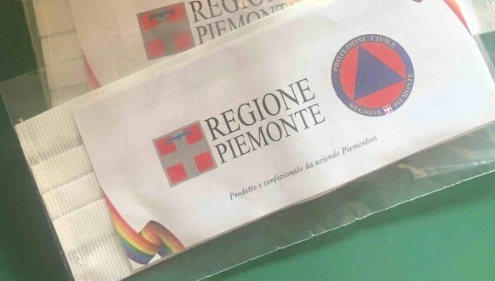 Palio di Asti, Rione Cattedrale: Consegnate le mascherine della Regione piemonte ieri09/05