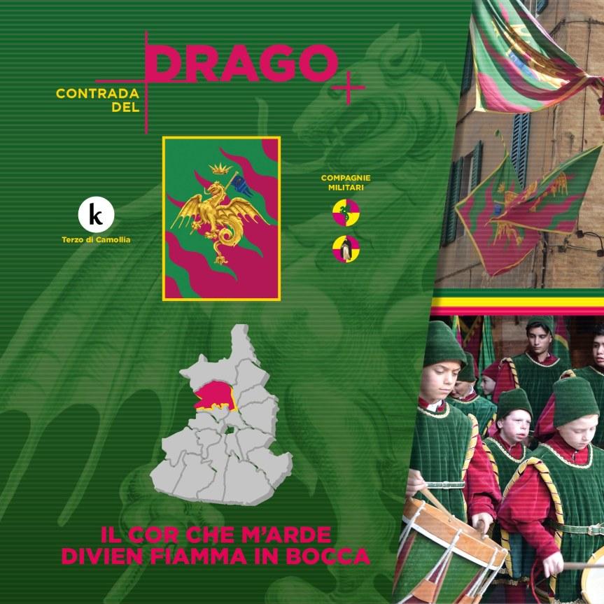 Siena, Contrada del Drago: Oggi 31/05 doveva svolgersi il Giro di Onoranze alle ContradeConsorelle