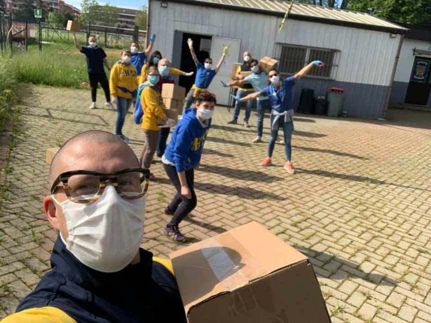 Palio di Asti, Comitato Palio Borgo Don Bosco: Nessuno è stato dimenticato con la consegna dellemascherine