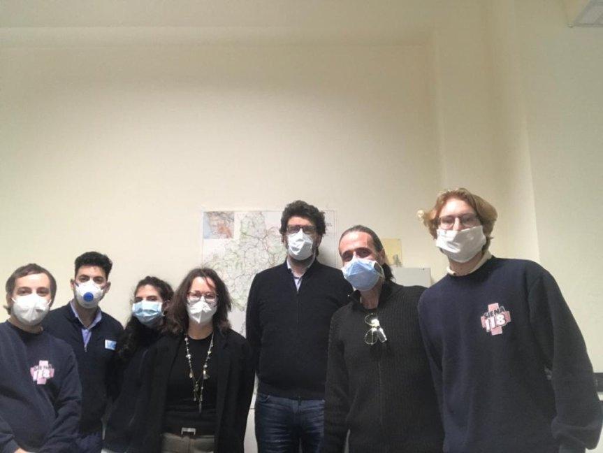 Siena: L'assessore Francesca Appolloni ha portato i ringraziamenti del Comune alla Società della Salute Senese e allasanità