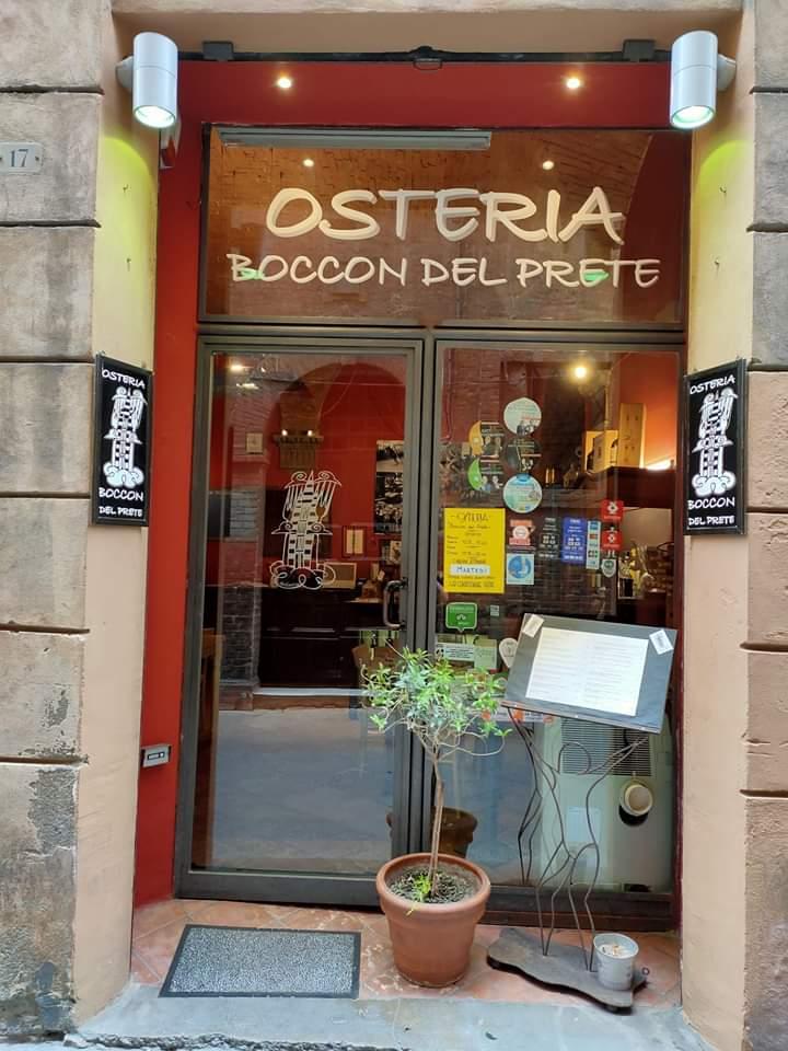 Massi Lo Sà, Sponsor: Riparte l'Osteria Boccon delPrete
