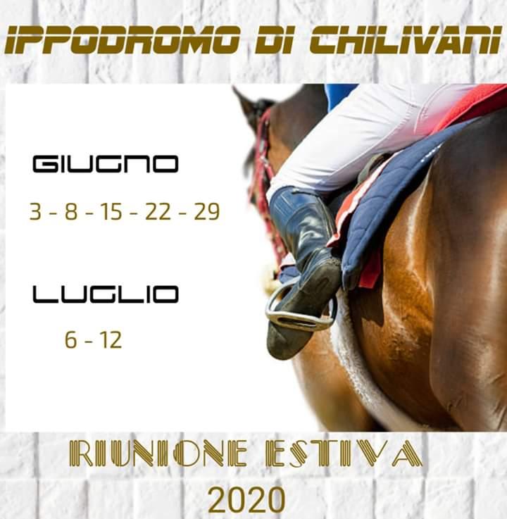 Ippica, Sardegna, Chilivani: Uscito il calendario delle corse di Giugno eLuglio