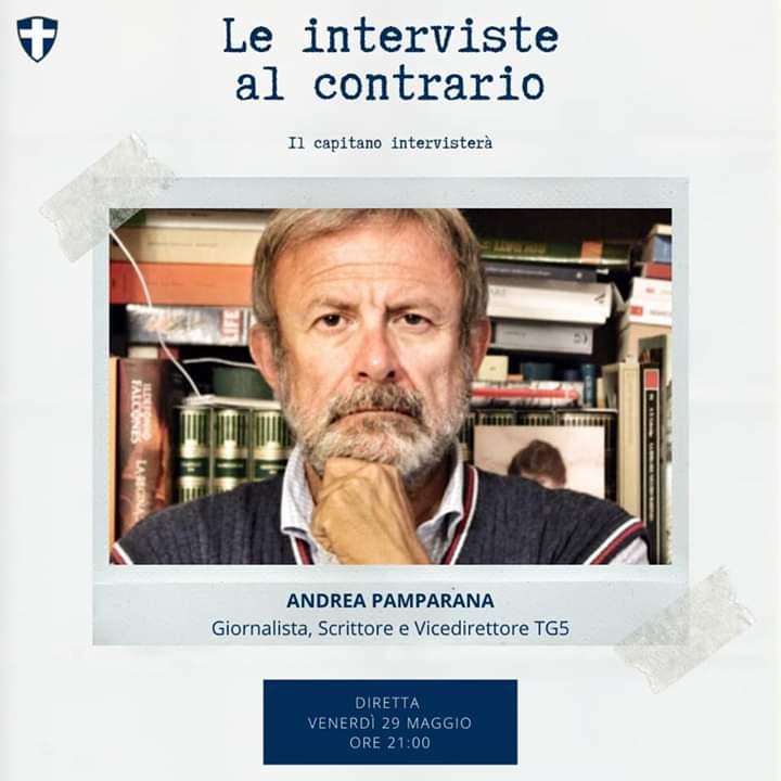 """Palio di Legnano, Contrada San Martino: 29/05 """"Le interviste al contrario"""" De Pascali intervista AndreaPamparana"""