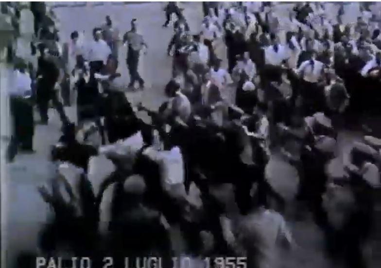 Palio di Siena: Palio 2 luglio1955