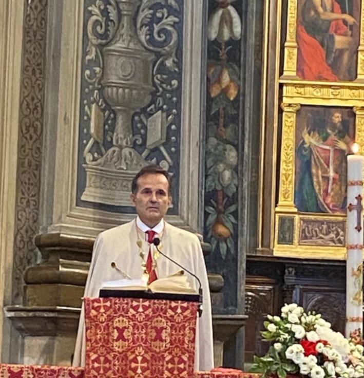 Palio di Legnano: Oggi 31/05 Ricordata in Basilica l'ultima domenica di Maggio con una messa in onore delPalio