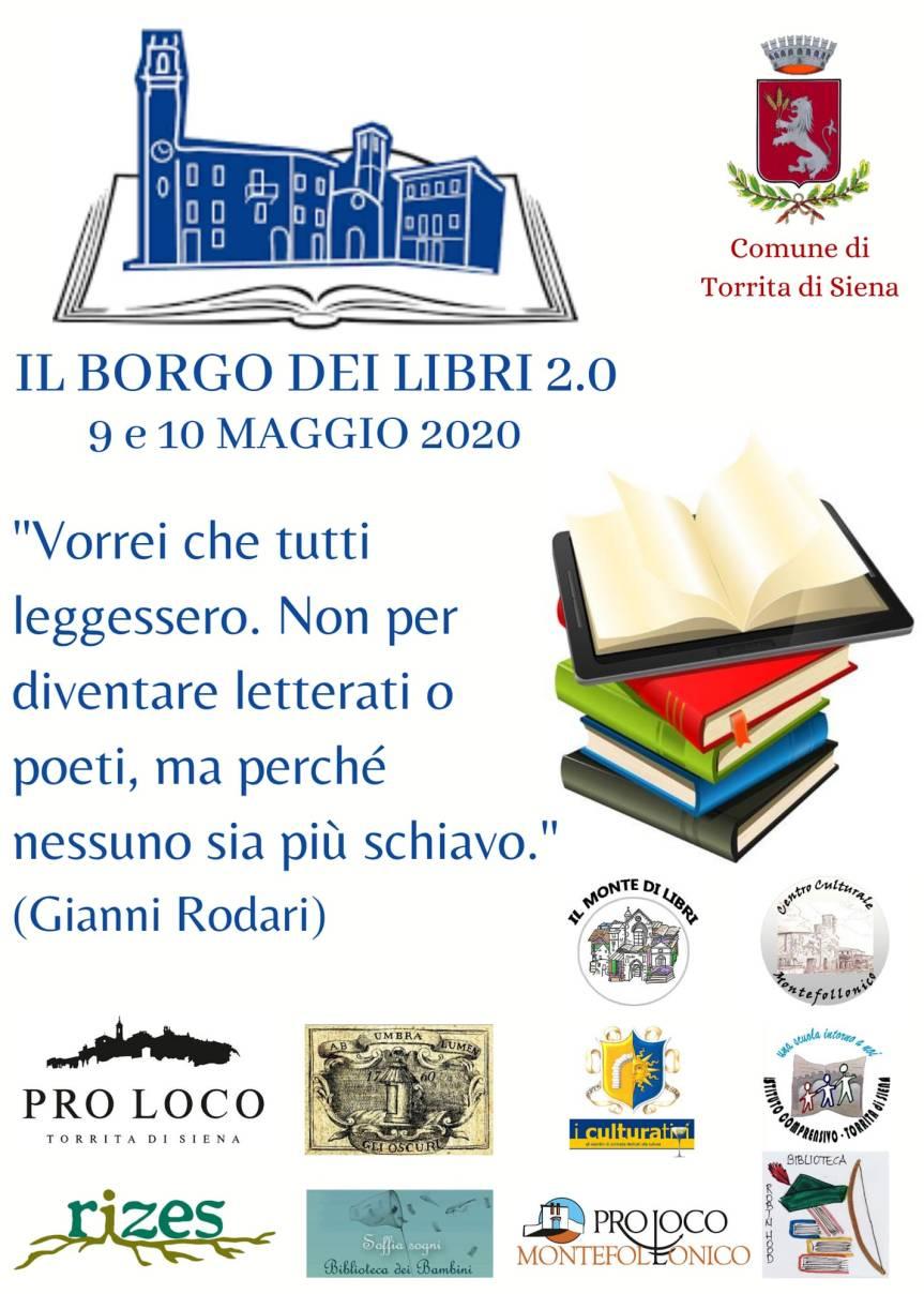 """Provincia di Siena: A Torrita di Siena sta per partire """"Il borgo dei libri"""", quest'anno in versione2.0"""