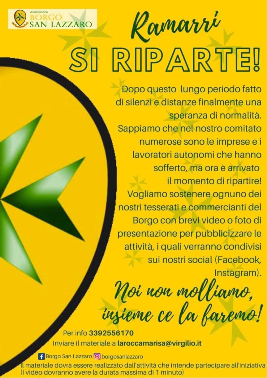 Palio di Asti, Comitato Palio Borgo San Lazzaro: Oggi 16/05 Comunicato Stampa delBorgo