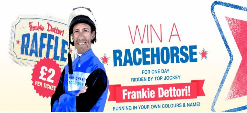 Ippica, Inghilterra: Compra un biglietto della lotteria e sarai proprietario di un cavallo montato da Frankie Dettori. Ecco comefunziona