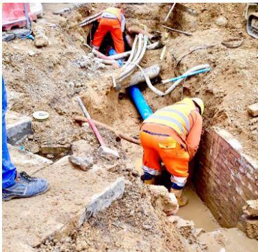 Siena: Porta Tufi, la rete idrica si rifà illook