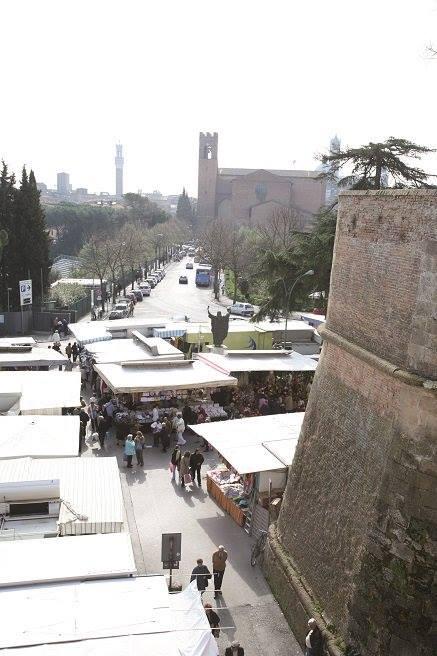 Siena: Oggi 11/11 il mercato in zonaarancione