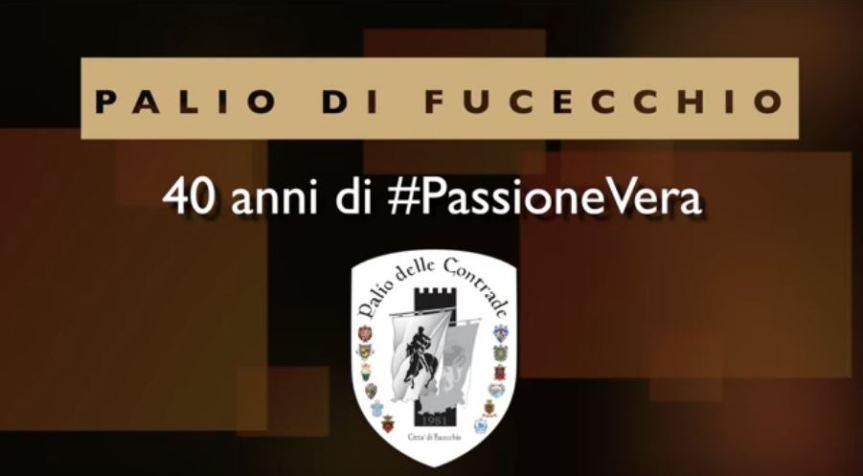 Palio di Fucecchio: Promo di 40 anni di #PassioneVera della puntata del 24 maggio2020