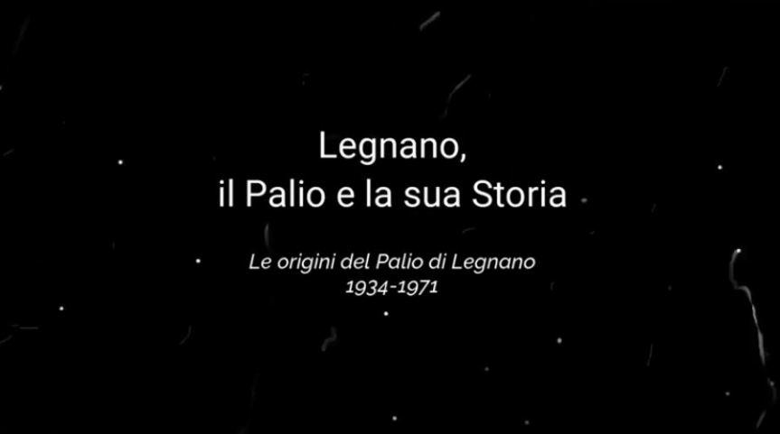 Palio di Legnano, Il Palio racconta la sua storia: Un viaggio nel tempo peremozionare