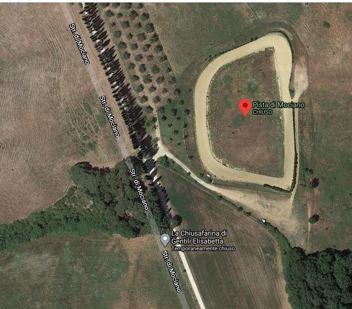 Palio di Siena: Dal 18/05 disponibile la pista di Mociano per allenamento dei cavalli del prtocolloequino