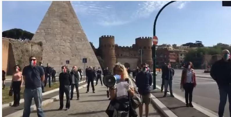 ITALIA: CRESCONO LE PROTESTE –ROMA