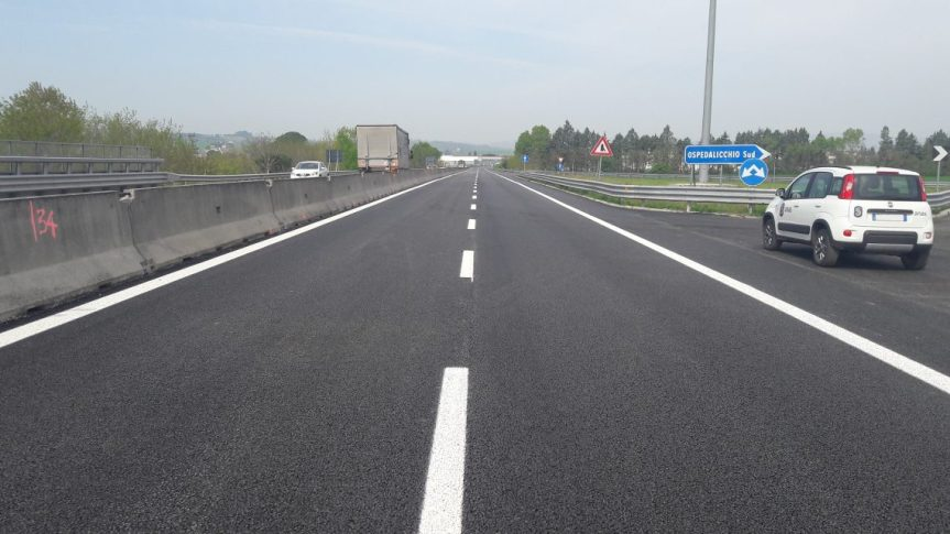 Toscana, Anas: Da domani 11/05 lavori di pavimentazione sul raccordo Bettolle-Perugia