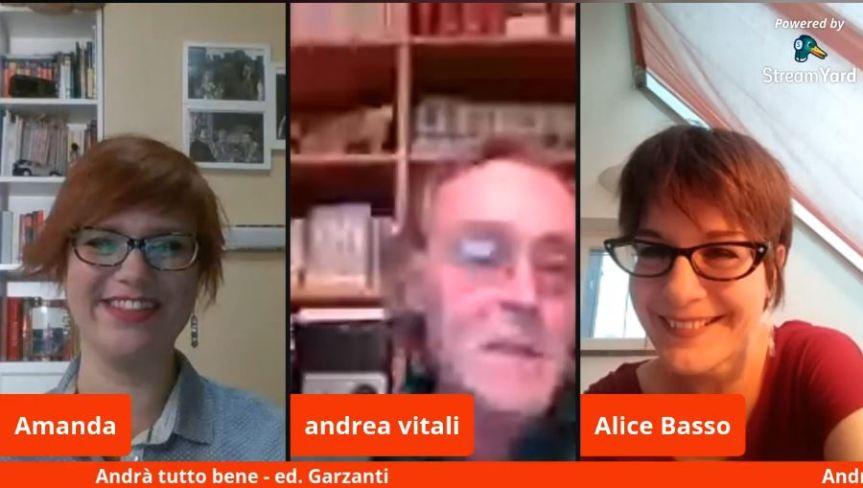 """Palio di Legnano, Contrada San Bernardino: Resoconto """"I Giovedì Letterari"""" con Andrea Vitali e Alice Basso di ieri28/05"""
