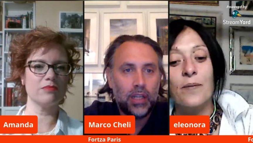 """Palio di Legnano, Contrada San Bernardino: Oggi 21/05 Diretta Live """"I Giovedì Letterari"""" """"Fortza Paris"""" con Marco Cheli e EleonoraMainò"""