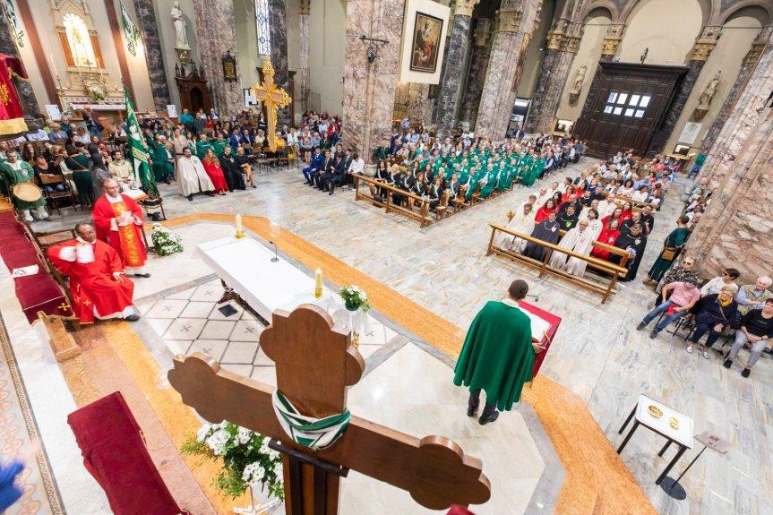 Palio di Legnano, Contrada San Domenico: Domani 29/05 ore 20.00 Santa Messa nella Chiesa parrocchiale davanti alCrocione