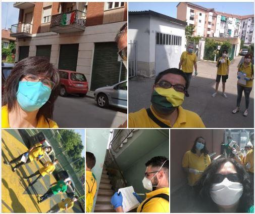 Palio di Asti, Comitato Palio Borgo San Lazzaro: Oggi 09/05 Continua la distribuzione delle mascherine della RegionePiemonte