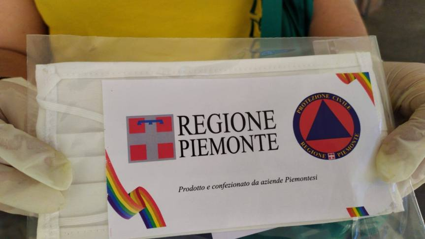 Palio di Asti, Comitato Palio Borgo San Lazzaro: Resoconto consegna mascherine della RegionePiemonte