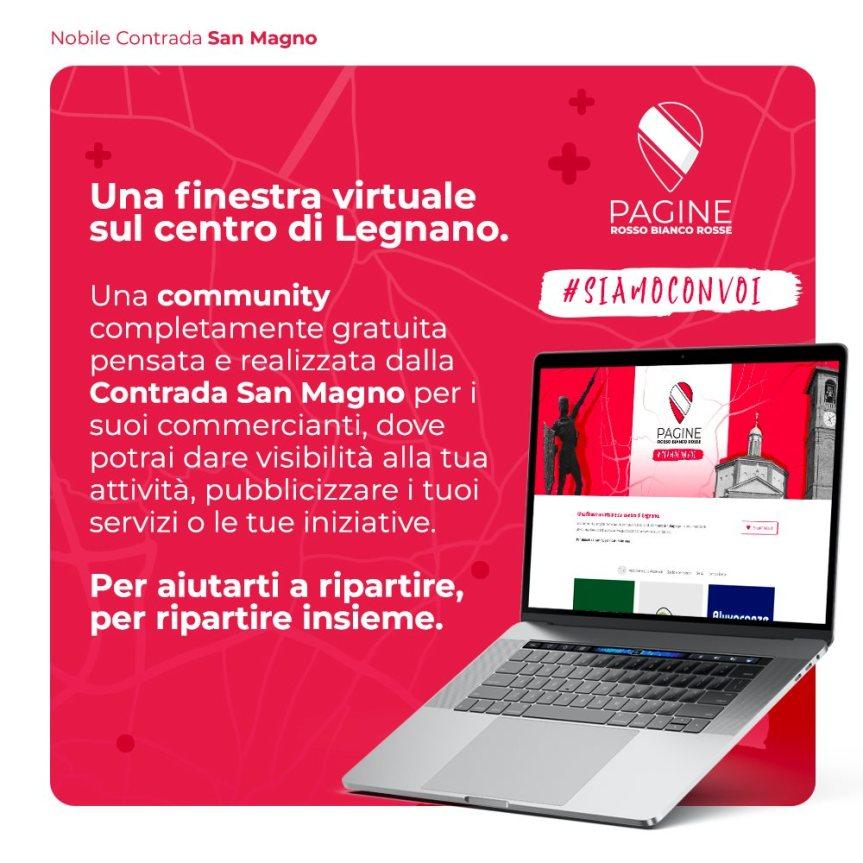 """palio di Legnano, Contrada San magno: Da ieri 16/05 On line """"Pagine Rossobiancorosse"""""""