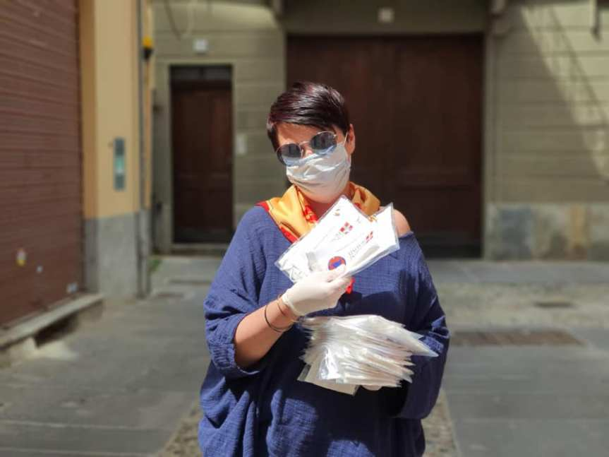Palio di Asti, Comitato Palio Rione San Paolo: Resoconto consegna mascherine della Regione piemonte del 09/05 e ieri10/05