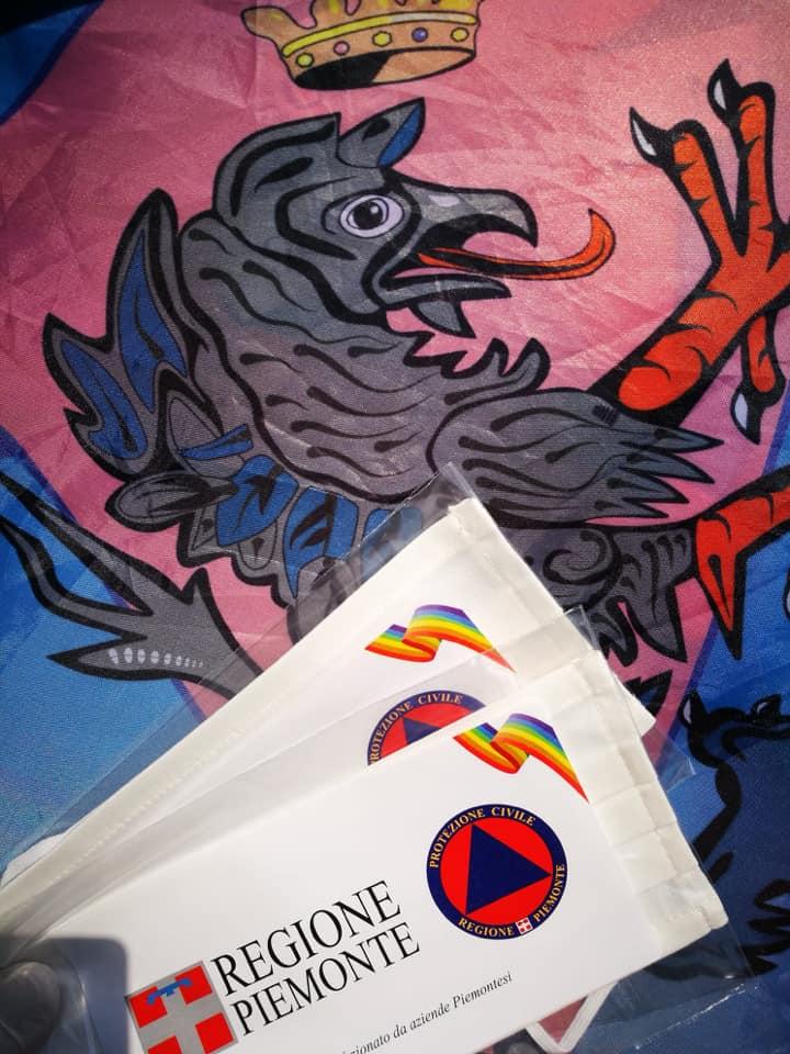 Palio di Asti, Comitato Palio Borgo Santa Maria Nuova: Oggi 09/05 distribuzione mascherine donate dalla RegionePiemonte