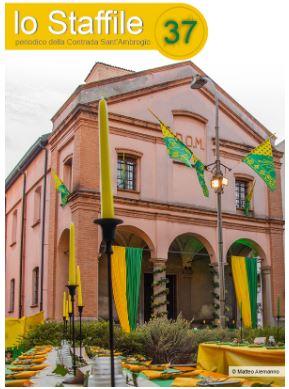 Palio di Legnano, Contrada Sant'Ambrogio: Lo Staffile 37 Maggio2020