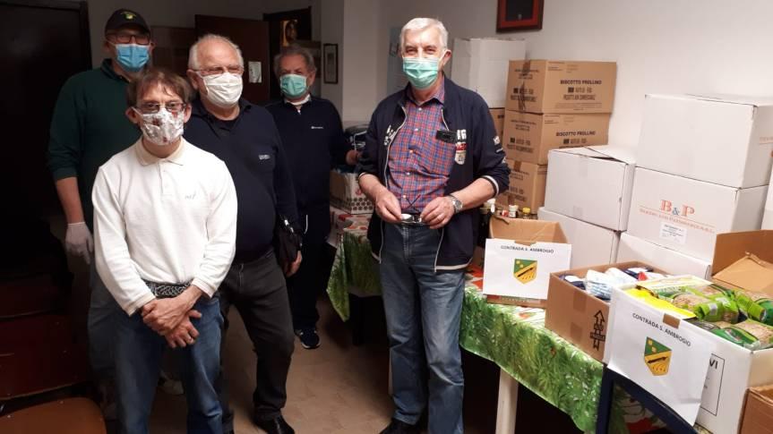 """palio di Legnano, Contrada Sant'Ambrogio: Aggiornamento #5: """"Spesasolidale"""""""