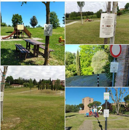 Siena: Parchi pubblici curati per affrontare la#fase2