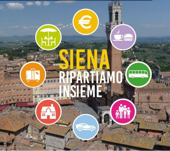 Siena: Oggi 06/05 il Servizio del #Tg3 #Toscana su #SienaRipartiamoInsieme