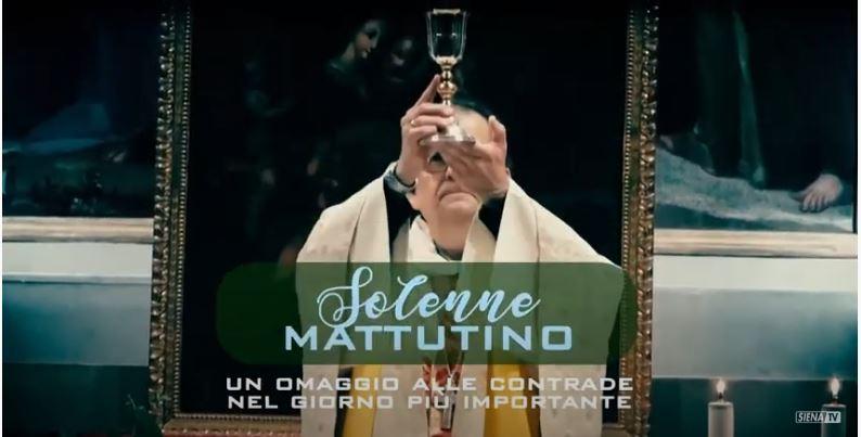 SIENA, CONTRADA DEL NICCHIO: SOLENNE MATTUTINO – NICCHIO09-08-2020