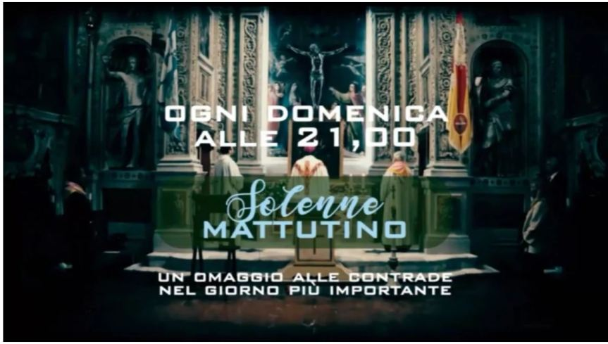 Siena: Feste Titolari, due nuovi format per una programmazione speciale su SienaTv