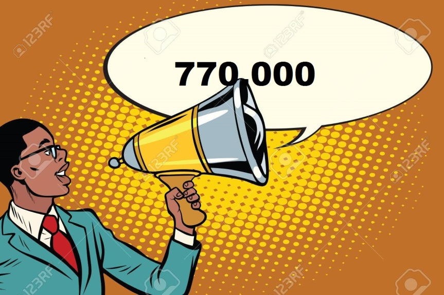 Massi Lo Sà: Nuovo Record del Blog, raggiunta quota 770.000visite!!