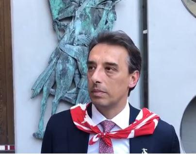 """Palio di Siena, anche per la Giraffa festa titolare ridotta dal Coronavirus. Lombardini: """"Atmosfera strana"""""""