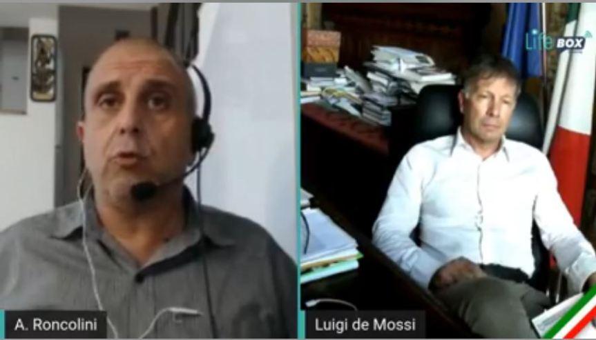 Siena:  Oggi 08/06 Diretta Live Sindaco De Mossi ospite a Life BoxStreaming