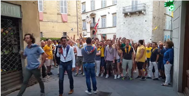 Palio di Siena: Pantera versusAquile