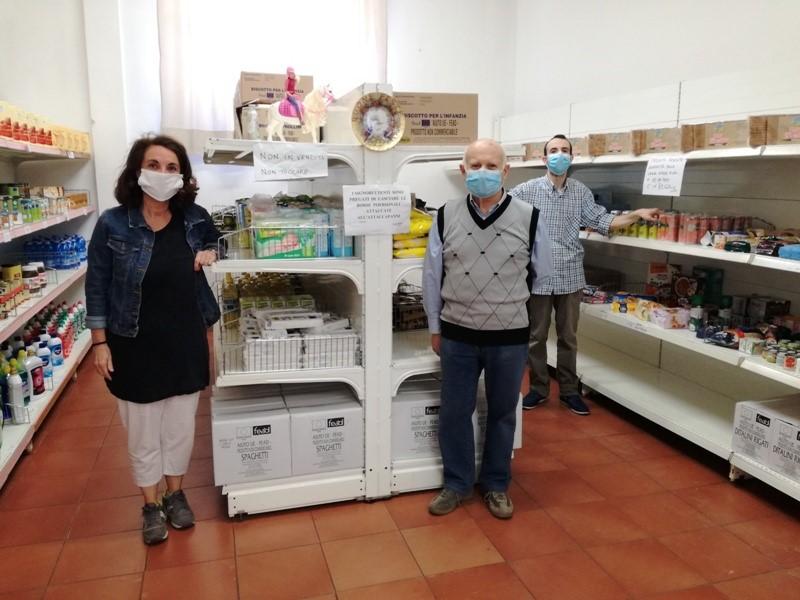 Provincia di Siena, Poggibonsi, cambio alla guida dell'Emporio della Solidarietà: Sempre a fianco delle famigliefragili