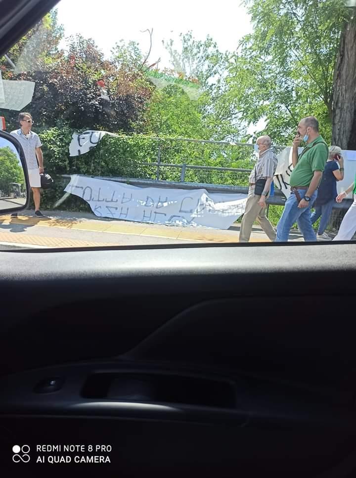 Siena: Ignoti strappano lo striscione pro Zanardi dei Figli di Siena e Noi NonTesserati