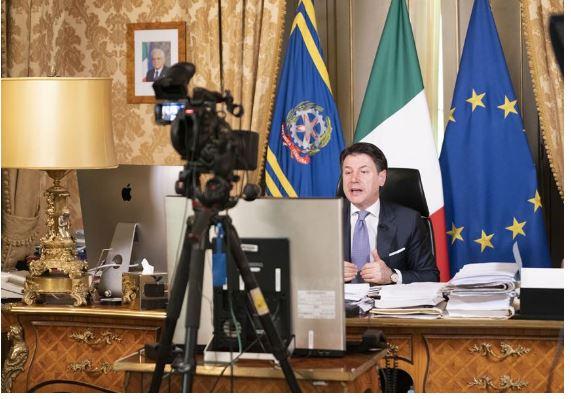 Italia: Bilaterale in videocollegamento Conte-Modi