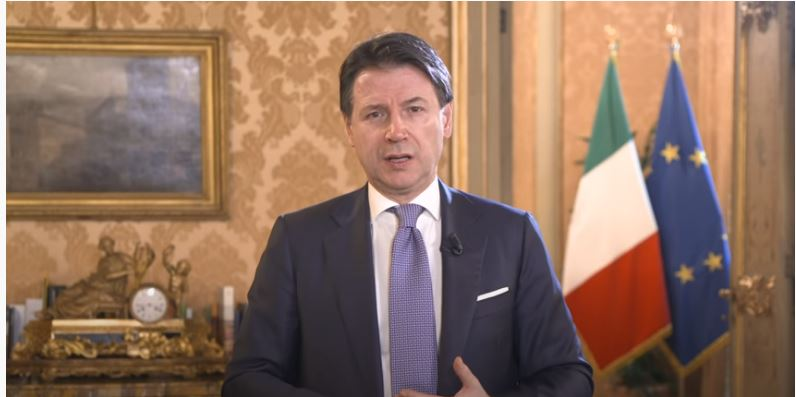 "Italia: Conte interviene al ""Global Vaccine Summit"""