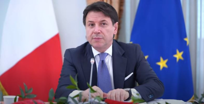 Italia: Il Presidente Conte aMadrid