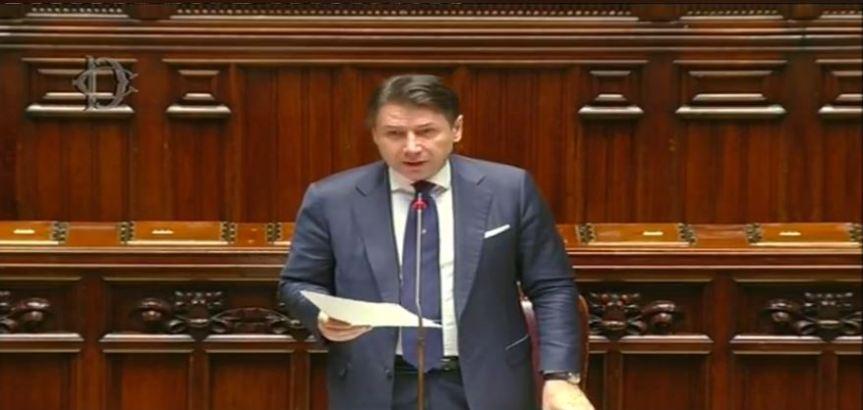 Italia:  Il Presidente Conte al Question time allaCamera