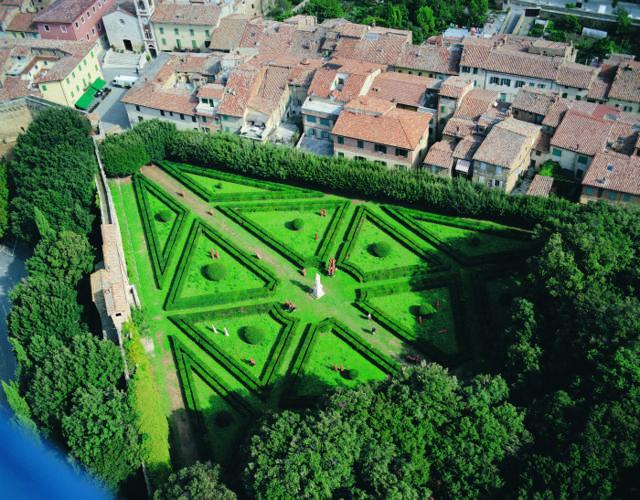 Provincia di Siena: Horti Leonini, lavori di gestione e rinnovo delle alberate nellaragnaia