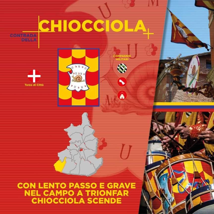 Siena, Contrada della Chiocciola: Festa Titolare2020