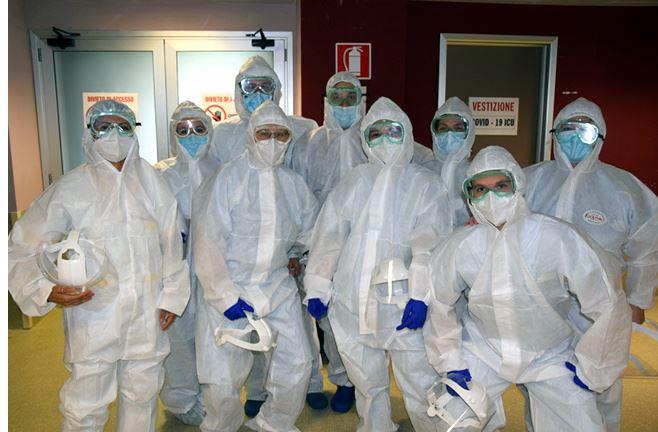 Siena: Sono 48 oggi i pazienti ricoverati nell'area Covid dell'ospedale delleScotte