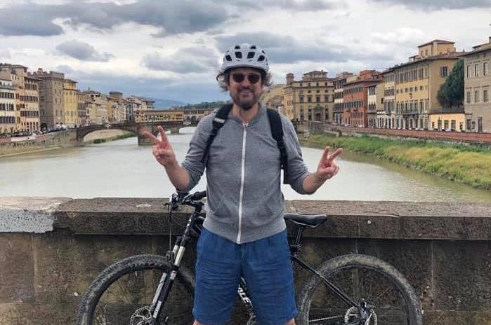 Toscana: Pieraccioni al Giro dopo Firenze-Borgo aBuggiano