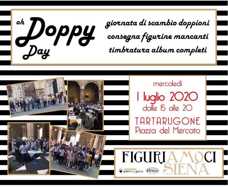 """Siena, Figuriamoci Siena: Domani 01/07 """"Doppy Day"""" sotto il Tartarugone di Piazza delMercato"""